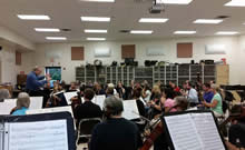 CCSO rehearsal